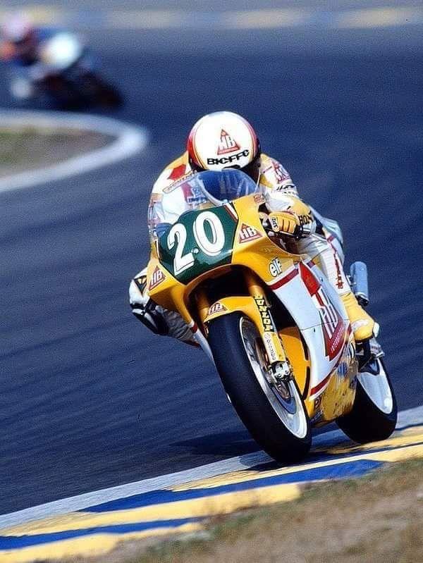 Doriano Romboni HB-Honda NSR250 Le Mans, 250cc 1991