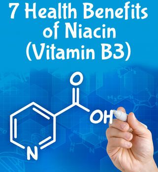 Niacin, also known as vitamin B3, aids many different metabolic processes in the body. Here are 7 health benefits of niacin that you need to know.