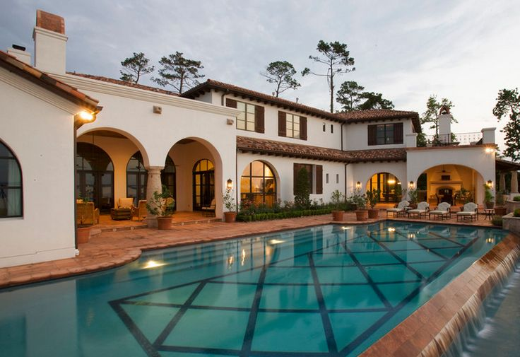 Spanish House Styles Design Ideas Dreams Home Lakes Conro Pools