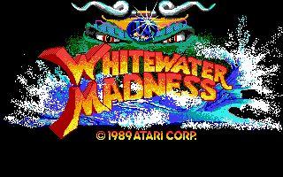 AtariCrypt /|\ Atari ST retro gaming: Whitewater Madness
