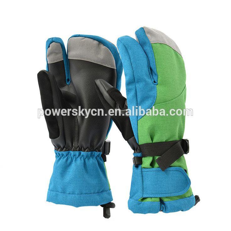 Wholesale market Men's/Man's winter ski accessories ski glove #gloves_ski, #Accessories