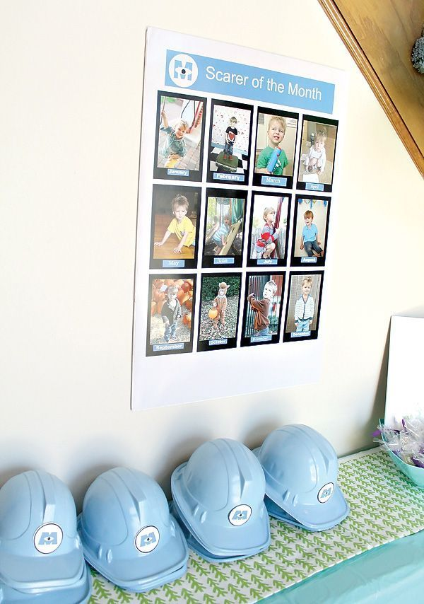Monsters Inc. Themed Birthday Party // Hostess with the Mostess®