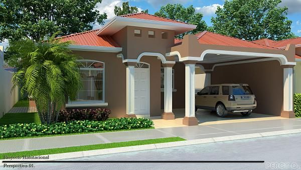 Casas pintadas verdes exterior buscar con google for Casas modernas pintadas
