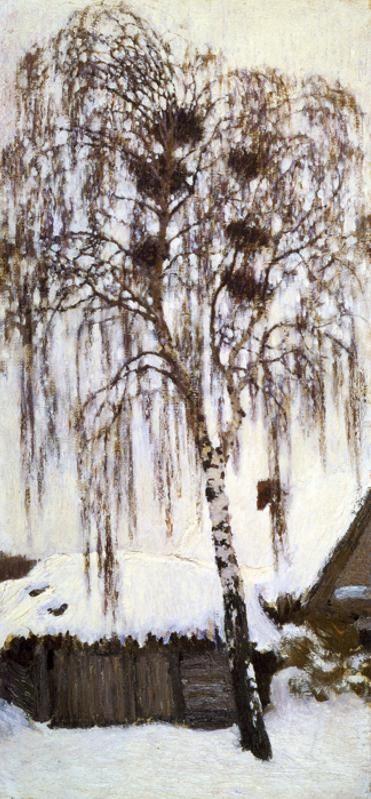 Igor Grabar - Winter. Rook Nests. 1904