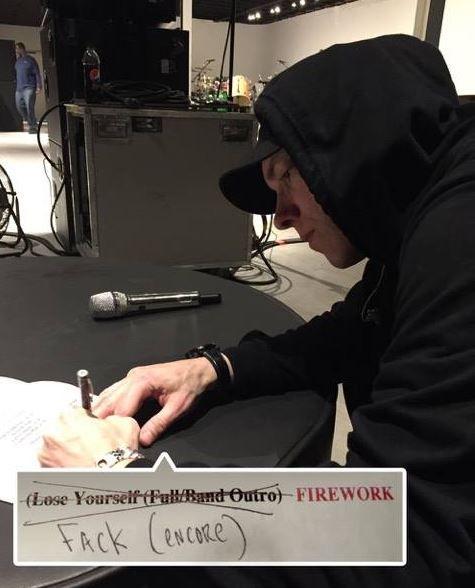 "Eminem Debuts ""Fack"" Live Peformance at Lollapalooza Brasil 2016 - http://www.movienewsguide.com/eminem-debuts-fack-live-peformance-lollapalooza-brasil-2016/176561"