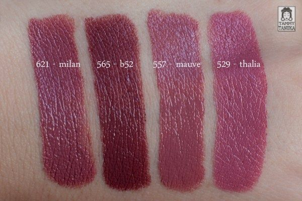 "Помады NYX Round Lipstick - оттенки ""milan"", ""b52"", ""mauve"", ""thalia"" отзывы — Отзывы о косметике — Косметиста"