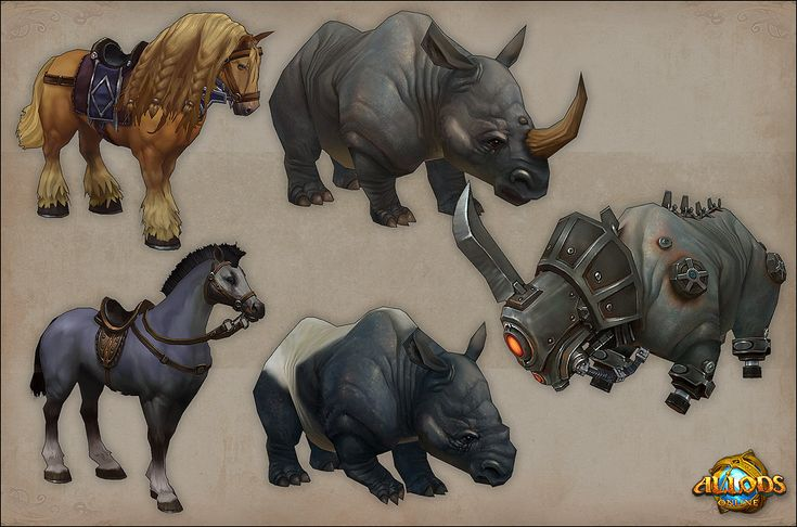 Allods Online ingame artwork - Page 6 - Polycount Forum
