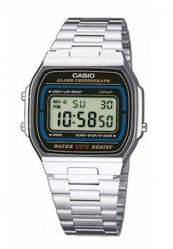 Ανδρικά Ρολόγια : CASIO Collection Stainless Steel Bracelet A-164WA-1VES
