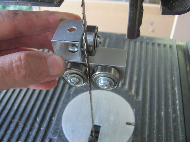 Backyard Workshop - Homemade Bandsaw Bearing Guides