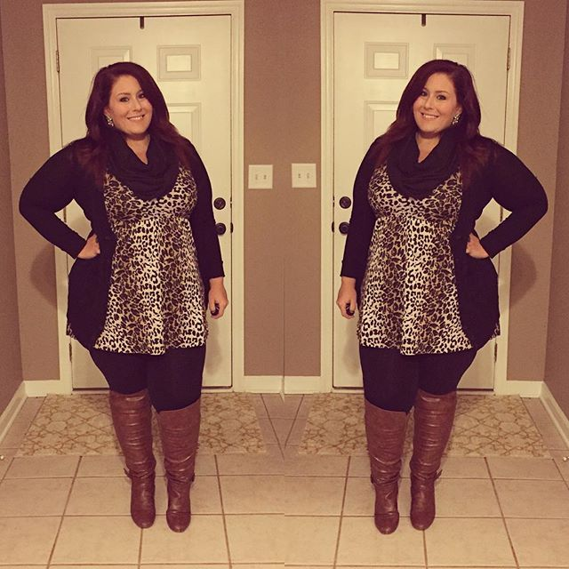 """""""Sweater  old navy  Dress  Ross Leggings  target Boots  madden girl"""