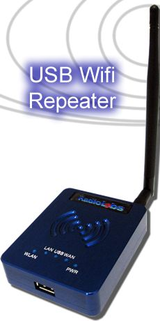 USB WiFi Repeater - WiJacker
