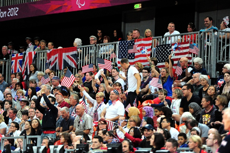 The crowd was as loud and exciting as the sport itself --- London Paralympic Games: Wheelchair Rugby, London Paralympic