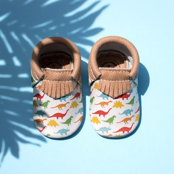 """Freshly Picked """"Dinos"""" moccasins"""