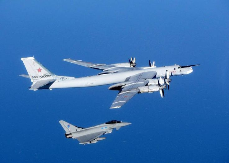 British fighter jets intercept two Russian bombers - 'The Russian planes were escorted by the RAF until they were out of the UK area of interest. At no time did the Russian military aircraft cross into UK sovereign airspace,' the Ministry of Defence said in a statement.