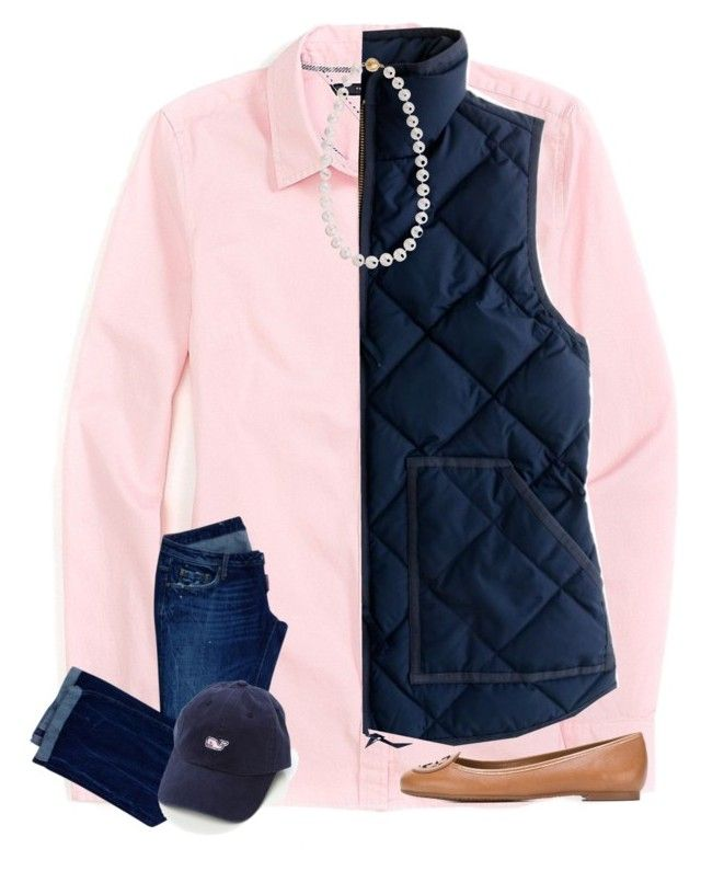 """""""In the car on the way to a competition for science class"""" by preppy-ginger-girl ❤ liked on Polyvore featuring Tommy Hilfiger, Dsquared2, J.Crew, Tory Burch, Cobra & Bellamy, women's clothing, women, female, woman and misses"""