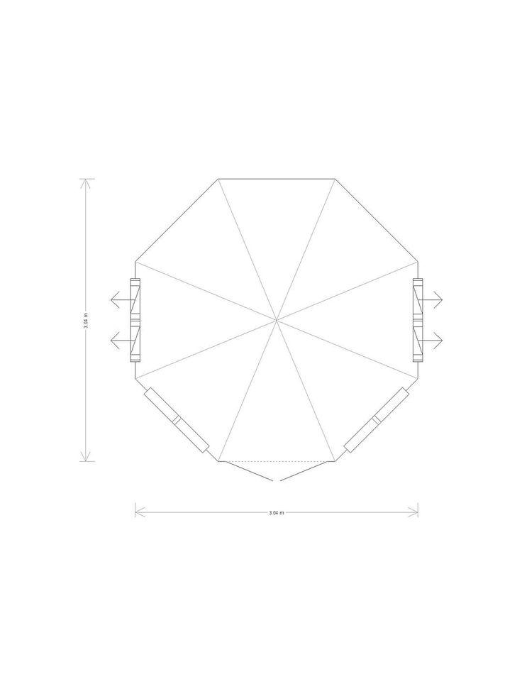 Best Crane 3 X 3M Round Pavilion Summerhouse Fsc Certified 400 x 300