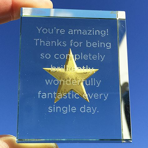 This is a wonderfully expressive way to say thank you to the most amazing teacher you've ever known! #BestTeacherEver #Love #Gift #Teacher #Star #Spaceform #London