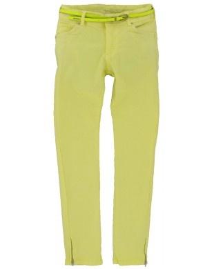Vingino meisjes broek Katka pastel yellow
