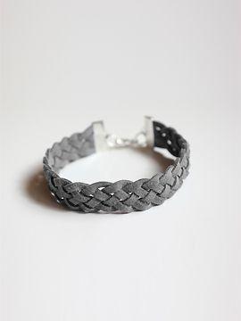 Kit DIY bracelet suedine gris marque ZUGOé