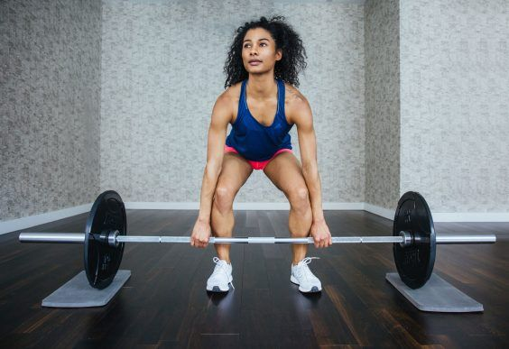 You don't need to be a meathead to hit the weight rack. #greatist https://greatist.com/fitness/olympic-lifts-basics-to-get-you-started