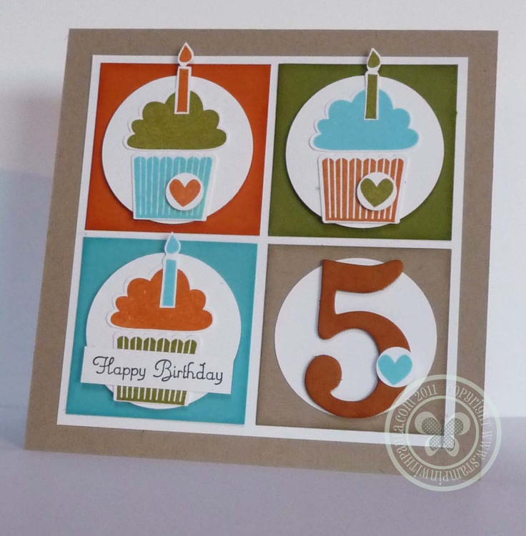 Stampin with Paula: Cute Cupcakes, Cards Ideas, Cards Cupcakes, Su Create, Cards Birthday, Birthday Cards, Cupcakes Cards, Cupcakes Birthday, Cupcakes Punch