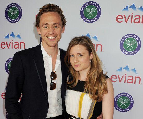 Tom and sarah hiddleston (sister)