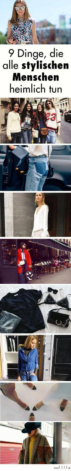 Stylingstricks der Modeprofis