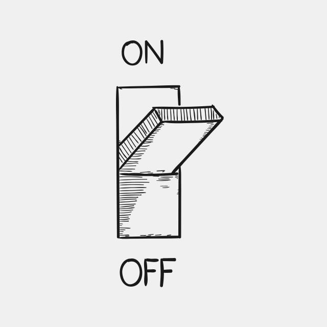 Switch On And Off To Save Electricity Switch Off Light Png And Vector With Transparent Background For Free Download Save Electricity Electricity Switch