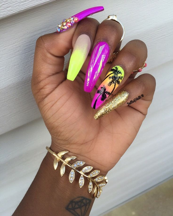 The 25+ best Long nail designs ideas on Pinterest | Long ...