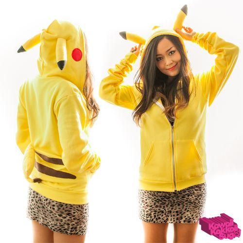 Pikachu Hoodie DIY (Patterns Provided) by kawaiikakkoiisugoi.deviantart.com on @deviantART