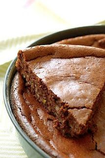 Recetas de Cocina faciles.: Torta de Nueces y Chocolate