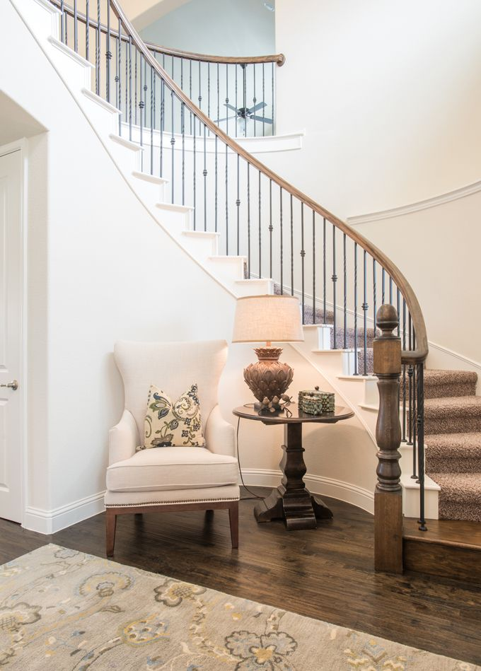 Foyer Stairway Ideas : Best ideas about curved staircase on pinterest grand