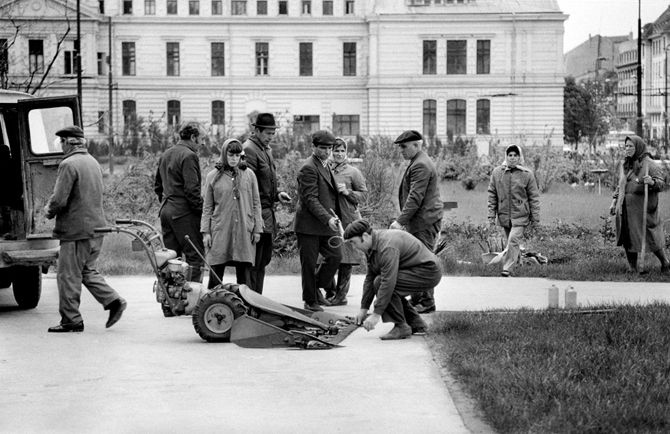 Arne Lind's day in Bucharest – 1974: 10 MOVERS