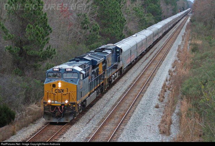 RailPictures.Net Photo: CSXT 3394 CSX Transportation (CSXT) GE ET44AC at Baldwin, Florida by Kevin Andrusia