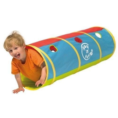 Childrens Outdoor Garden Toys Generic Pop-Up Tunnel Game Fun Party Gift Backyard