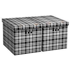 Úložné krabice velké KÁRO