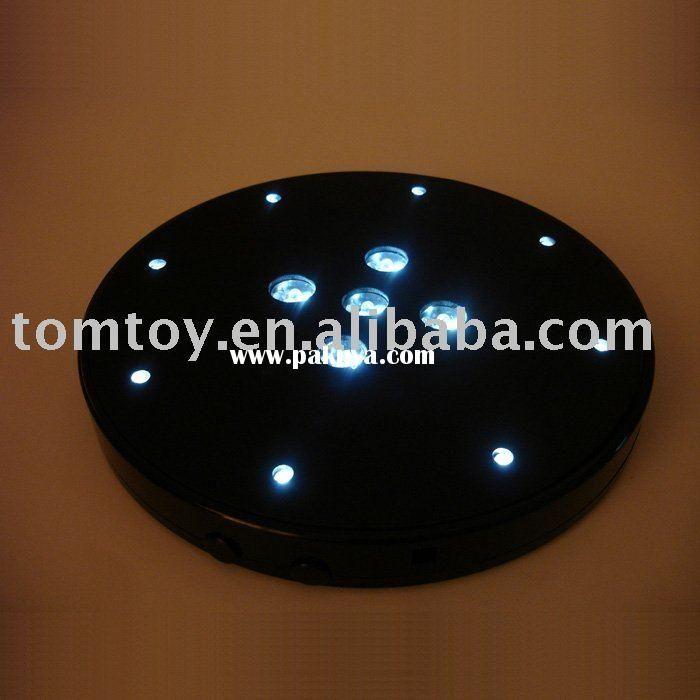 led crystal light base