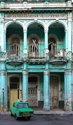 Havana, Cuba. Going in one of the old cars is a MUST