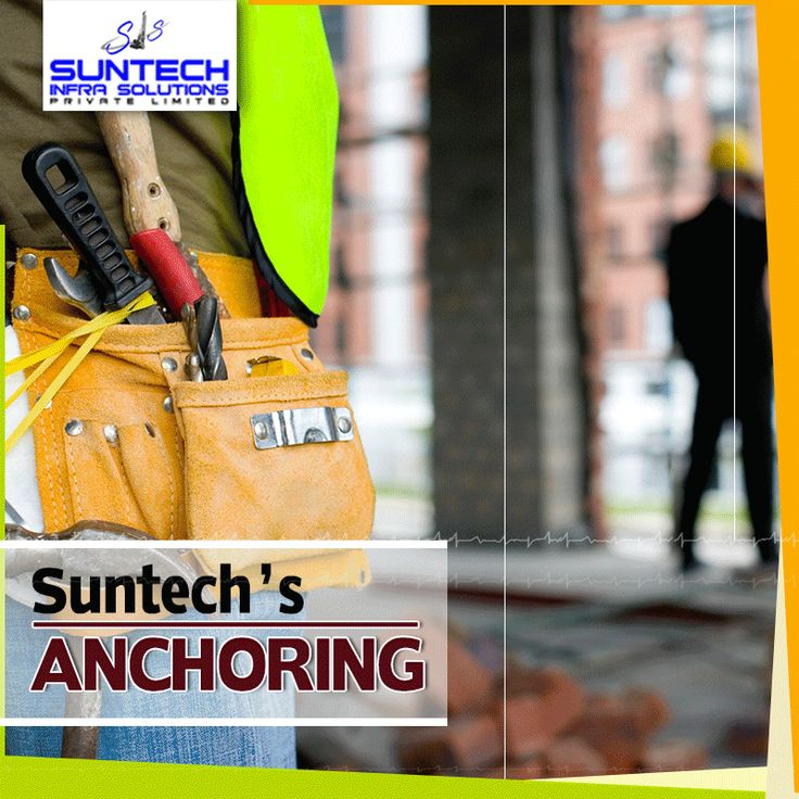 Suntech Infra Solutions Pvt Ltd provides some of the most cost effective and innovative anchoring solutions to the Civil engineering and construction industries. Contact Suntech at +91-9871281838. #Suntechinfra #CivilEngineering #Anchor #Services #Construction
