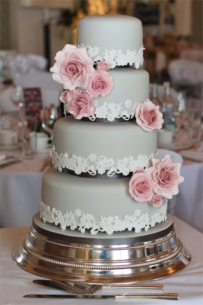 gray wedding cake designs 17 best ideas about grey wedding cakes on pink 14904