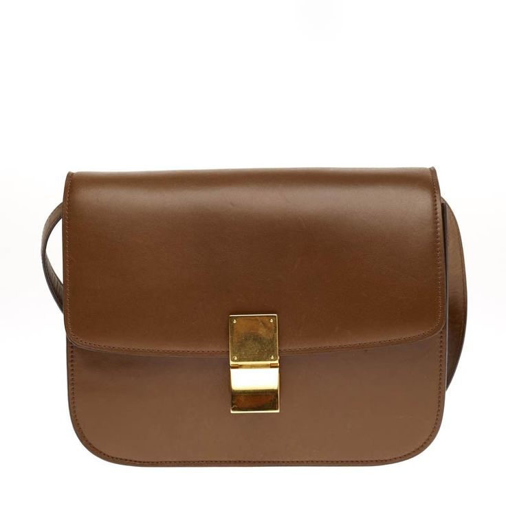Celine Box Bag Leather Medium - This Celine Box Bag in size Medium ...