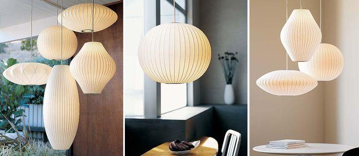 Een klassieker! George Nelson's Bubble Lamps Roomed | roomed.nl