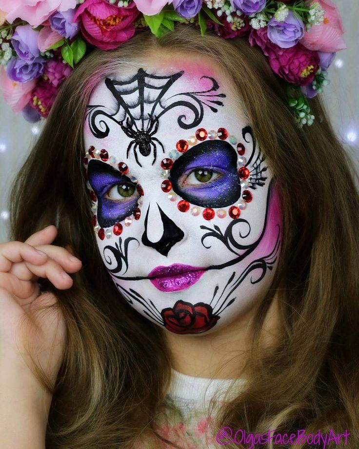 Lesbian adult halloween face painting ideas