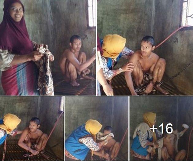 DONASI 1 APEL UNTUK AZIS  SATU BUAH APEl UTK AZIS  (Kamu ndak sendiri nak)  Oleh: dr. Lia Imelda Siregar (Tualangtjut Aceh) Anak ganteng itu bernama Azis. Anak tertua dari 7 bersaudara di salah satu tempat di tanah air ku dalam keadaan salah satu kaki nya yang terikat rantai Lewat selang air ia bermain tanpa menghiraukan sekitarnya. Begitulah hari hari ia lalui.Semetara adik dan keluarganya yang ramai sibuk dengan dunia nya masing masing. Azis jarang diajak bicara. Diawal pertemuan Azis…