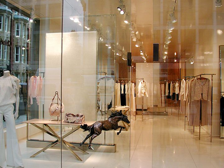 Chloé flagship store by Sophie Hicks, London