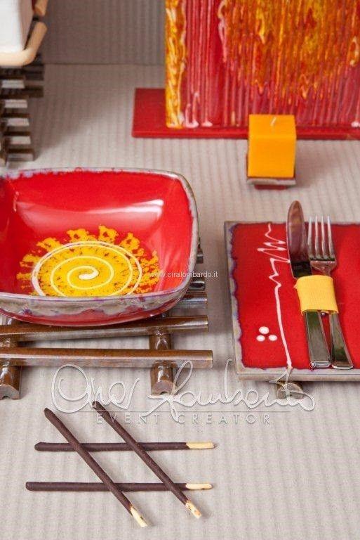 Idee per Natale, una tavola natalizia dal sapore etnico