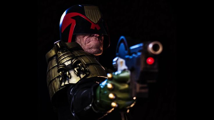 Dredd Time-lapse. Time-lapse of Judge Dredd makeup by Patt Foad Photographs by Matthew D'Urban-Jackson Model Nathan Claridge Costume Jonatha...