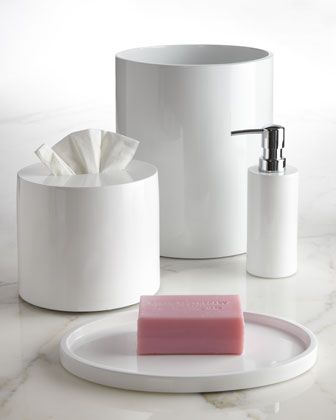 lacquered vanity accessories by jonathan adler at horchow also in dark brown - Bathroom Accessories Vanity Tray