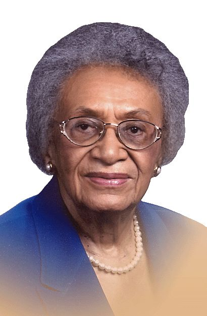 First woman to be appointed to the United States Commission on Civil Rights (1964-1979), Past National President of Delta Sigma Theta Sorority and Howard University graduate (LLB 1947) Frankie Muse Freeman received the L.LD. on Charter Day in 2004.
