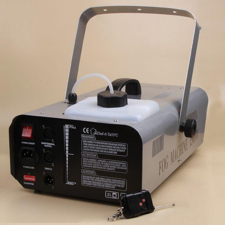 NEW 1500W Fog Smoke Machine/Fogger Smoke W/Wireless Remote DMX Shipping from USA OVS-GLEDYJ-26